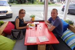 W restauracji TOPAZ