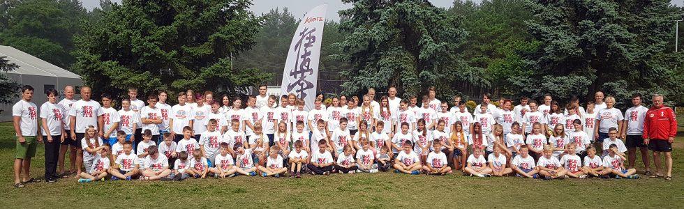 LETNI OBÓZ SPORTOWY KARATE KYOKUSHIN ŁAZY 14-24.07.2018